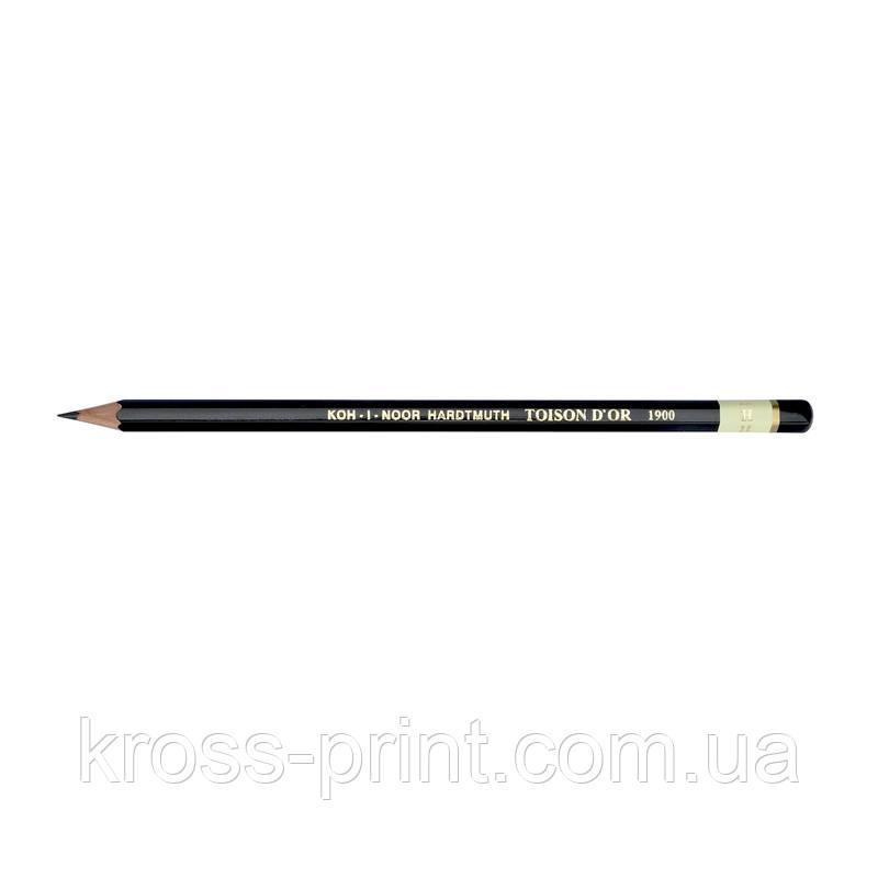 Олівець графітний 1900, H