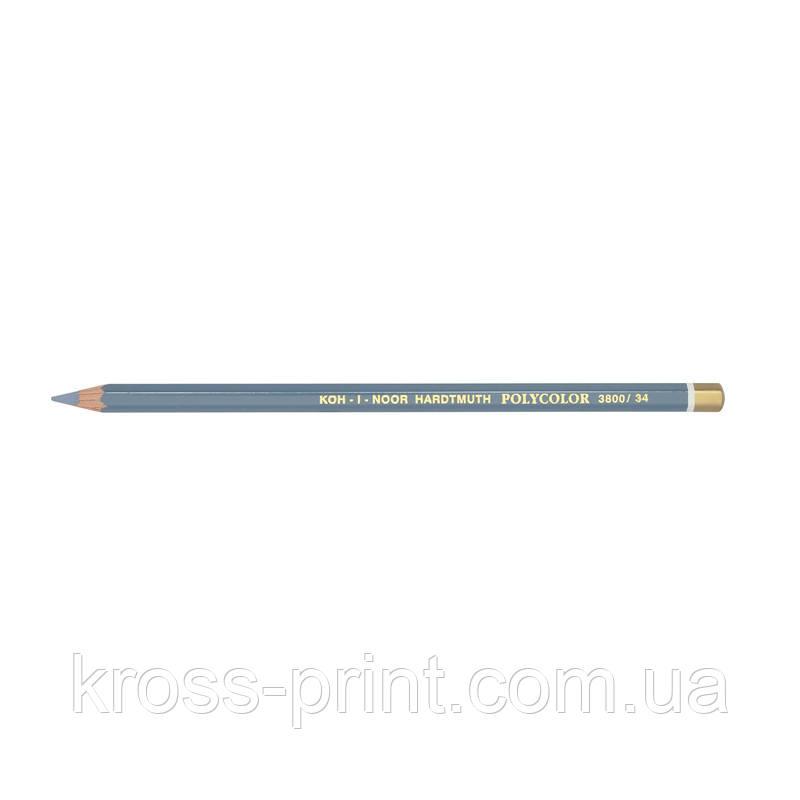Олівець худож.POLYCOLOR bluish light grey