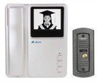 Домофон IV 200 LCD цветной Sharp, домофон с цветным дисплеем, видеодомофон, квартирный видеодомофон