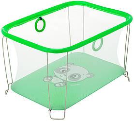 Детский манеж игровой KinderBoxс солнышко Зеленый SUN 9634, КОД: 2383878
