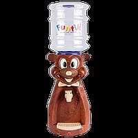 Детский Кулер для воды Мишка Коричневый