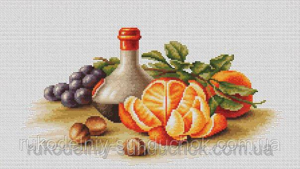 Набір для вишивки хрестом Luca-S BL2250 Натюрморт з апельсинами
