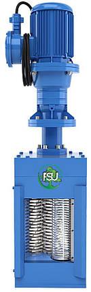 Канализационные решетки-дробилки для установки в канале на трубу Ду 150 типа FSU, фото 2
