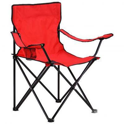 Стул рыбацкий Camping Quad Chair Красный 194017