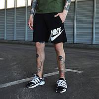 Шорты мужские Nike черного цвета. Мужские шорты Эир Найк черные. Летние мужские черные шорты., фото 1