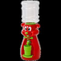 Детский Кулер для воды Мишка Красный