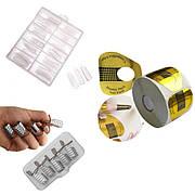 Формы и типсы для наращивания и моделирования ногтей