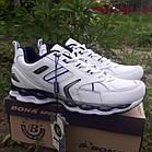 Кроссовки кожаные Bona р.45 белые, фото 2