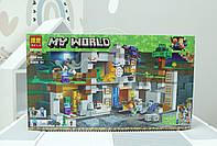 Конструктор Bela MC 10990 Приключение в шахтах аналог Lego Minecraft