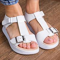 Женские сандалии Fashion Bruno 3066 38 размер 24,5 см Белый