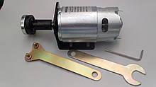 Електродвигун мод. 997  DC 12-48V, 400W + кронштейн, насадка-перехідник під відрізні диски, ключі