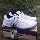 Кроссовки кожаные Bona р.43 белые, фото 4