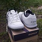 Кросівки шкіряні Bona р. 43 білі, фото 2