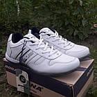 Кроссовки кожаные Bona р.43 белые, фото 3