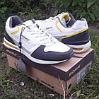 Кроссовки кожаные Bona р.45 белые, фото 5