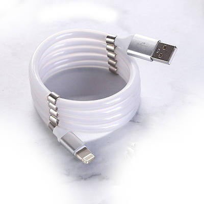 Магнитный Кабель для зарядки телефонов и планшетов USB - micro USB Micro V8 1м iPhone