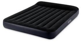 Надувний матрац з підголовником Pillow Rest Classic Bed FIBER-TECH, 183Х203Х25 см SKL11-250368