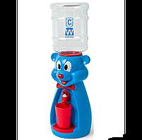 Детский Кулер для воды Мишка Голубой
