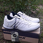 Кроссовки кожаные Bona р.45 белые, фото 3