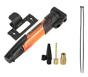 Ручний велосипедний насос з кріпленням DUUTI PP-05 Orange