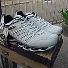 Кроссовки кожаные Bona р.46 белые, фото 3