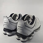 Кроссовки кожаные Bona р.46 белые, фото 8