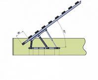 Механізм подйома для ліжка + газова пружина (2 шт.)