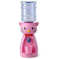 Детский Кулер для воды Котик Розовый