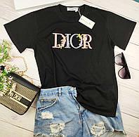 Стильная женская футболка Диор