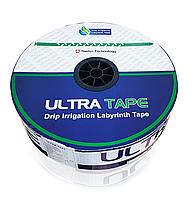 Капельная лента Ultra Tape 6mil шаг 20см расход 1,3л/ч длина 1000м Щелевидная