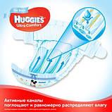 Подгузник Huggies Ultra Comfort 3 Box для мальчиков (5-9 кг) 112 шт (5029053547817), фото 3