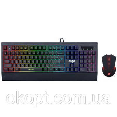Комплект Ergo MK-540 Black (MK-540)