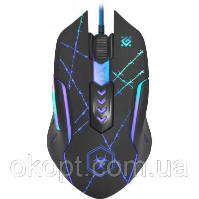 Мишка Defender Forced GM-020L Black (52020)