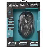 Мишка Defender Forced GM-020L Black (52020), фото 6