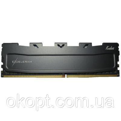 Модуль пам'яті для комп'ютера DDR4 8GB 2400 MHz Black Kudos eXceleram (EKBLACK4082415A)