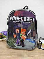 Детский рюкзак для мальчика Майнкрафт
