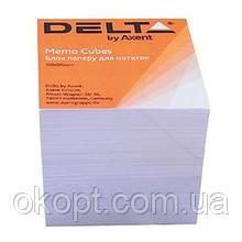 Бумага для заметок Delta by Axent білий 90Х90Х80мм, unglued (D8005)