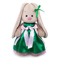 Мягкая игрушка Зайка Ми в нарядном платье 32 см