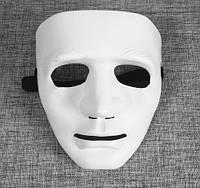 Маска обличчя Людини (Біла), маска міма, безликий