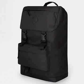 Рюкзак жіночий / чоловічий з тканини. Сумка міська. Рюкзак туристичний. №5624. Колір: чорний (SV)