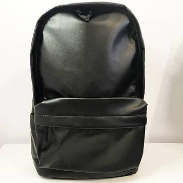Рюкзак міський із еко-шкіри чоловічий - жіночий / шкіряний / для ноутбука / для дівчат, для хлопців. Модель: