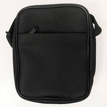 Месенджер сумка на кожен день. З еко-шкіри. Модель: 92264 Колір: чорний (SV)