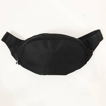 Бананка з тканини. Сумка для торгівлі. Сумка через плече. Модель: 33885. Колір: чорний (SV)