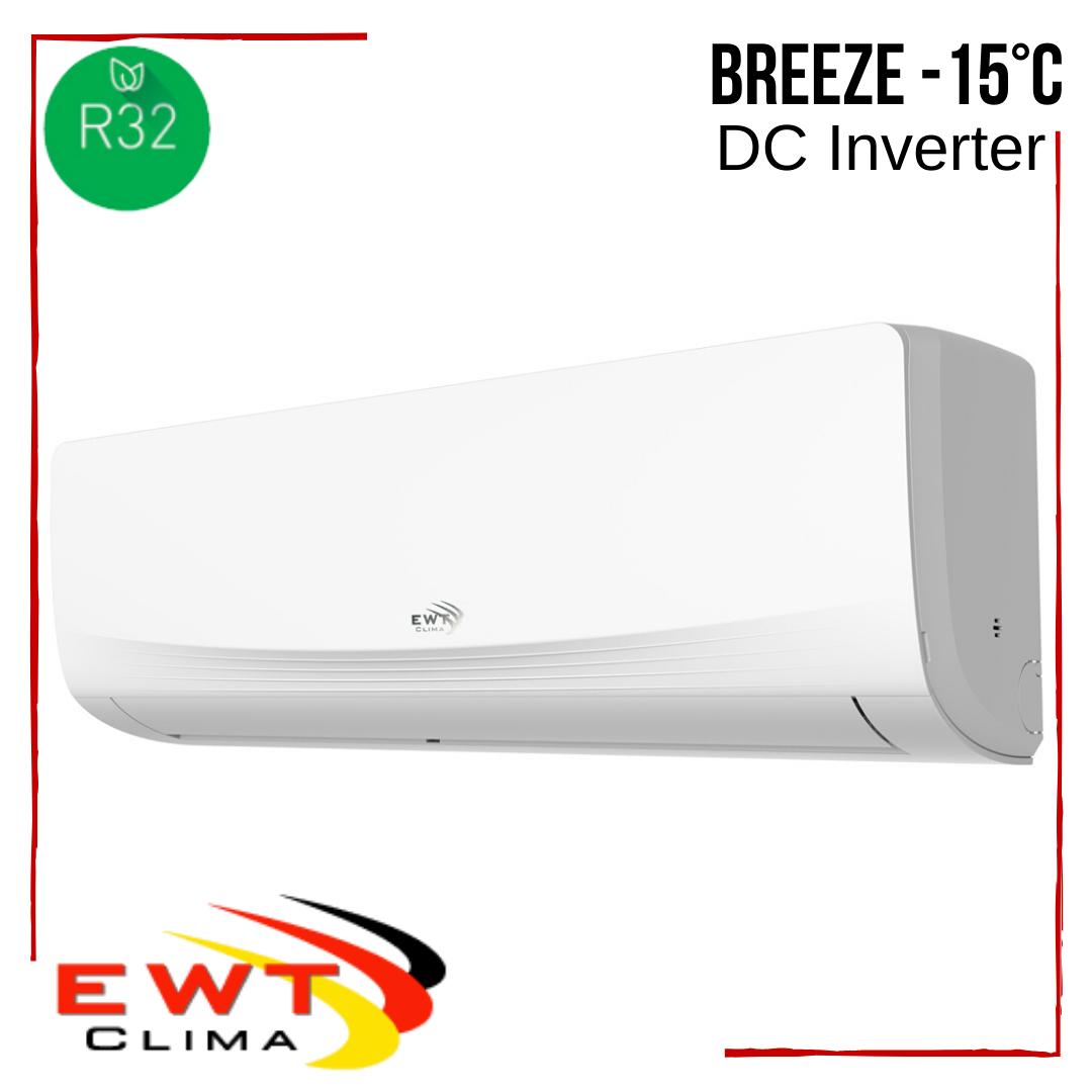 Кондиціонер EWT Clima з безкоштовною доставкою S-180SDI-HRFN8 Breeze DC Inverter -15°С інверторний до 50 м2