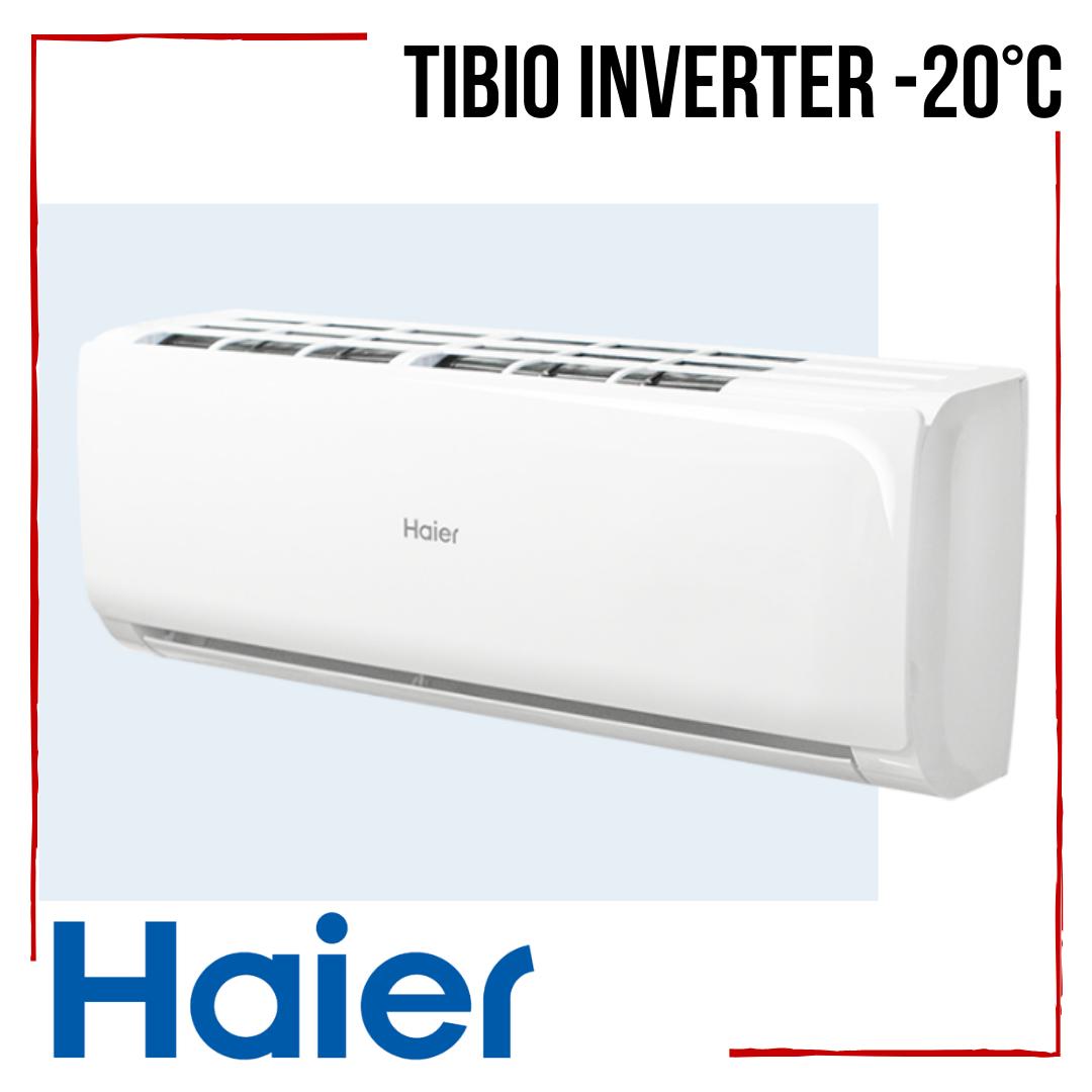 Кондиціонер Haier Tibio AS50TDDHRA-CL /1U50MEEFRA Inverter -20°С інверторний клас А++ до 50 м2