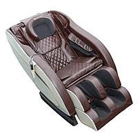 Масажне крісло ZENET ZET-1288 Brown 20 програм, фото 3