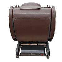 Масажне крісло ZENET ZET-1288 Brown 20 програм, фото 5