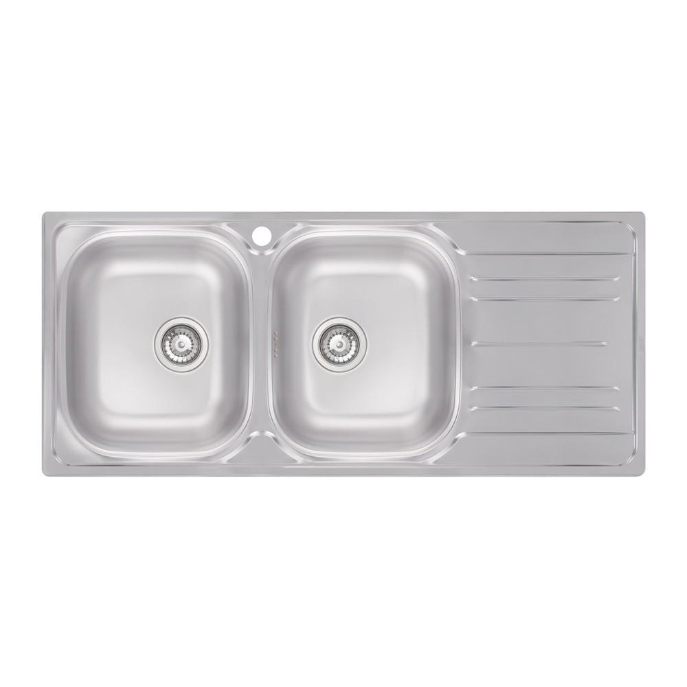 Кухонна мийка Apell Oceano OH1162IRPC Satin
