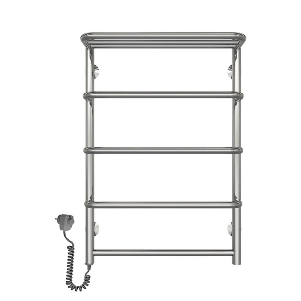 Полотенцесушитель электрический Lidz Standard shelf (CRM) P5 500x700 LE с полкой