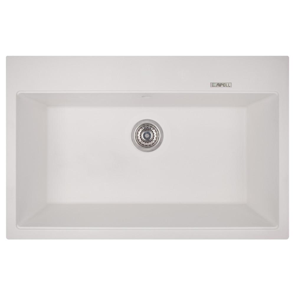 Кухонна мийка Apell Pietra Plus PTPL780GW Total white